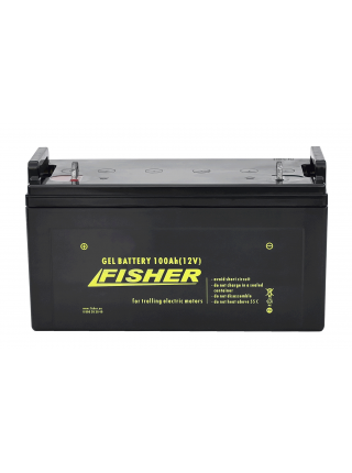 Электромотор Fisher 46 + аккумулятор Gel 100Ah