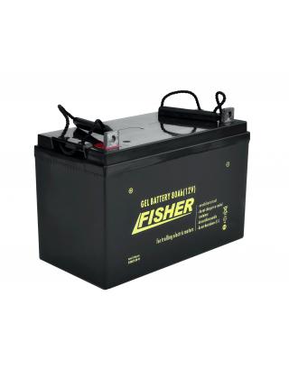 Электромотор Fisher 32 + аккумулятор Gel 80Ah