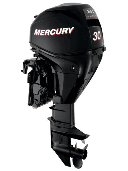 Подвесной мотор Mercury F 30 ML GA EFI (4хтактный, мощность 30 л.с.)