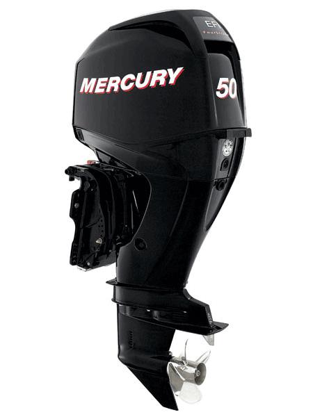 Подвесной мотор Mercury F 50 ELPT EFI (4хтактный, мощность 50 л.с.)